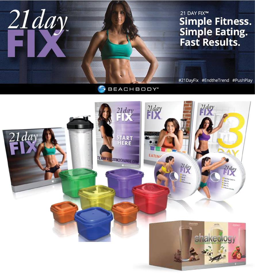 Final 21 day fix week!