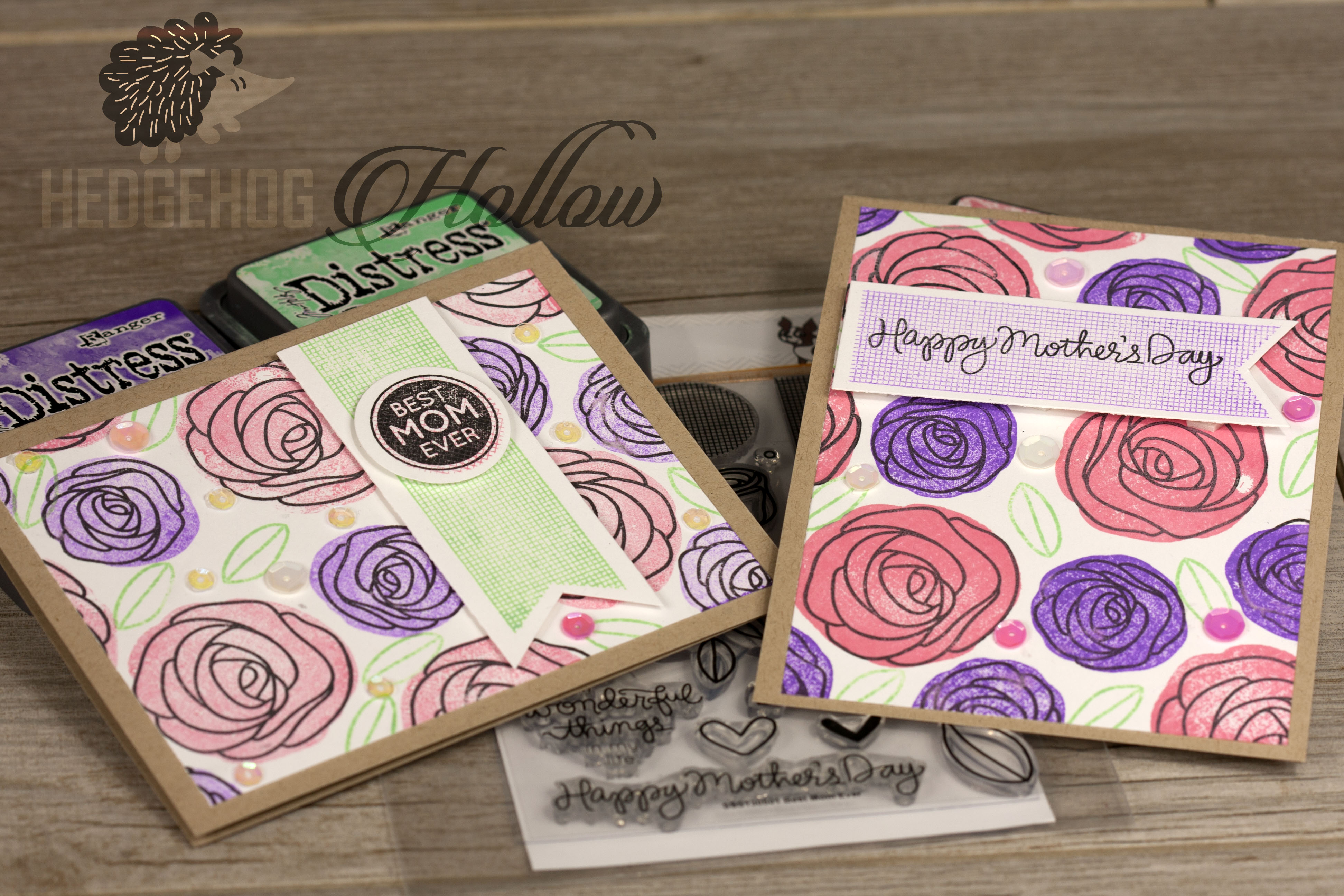 Simon Says Stamp April release and a Reverse Stamping Tutorial