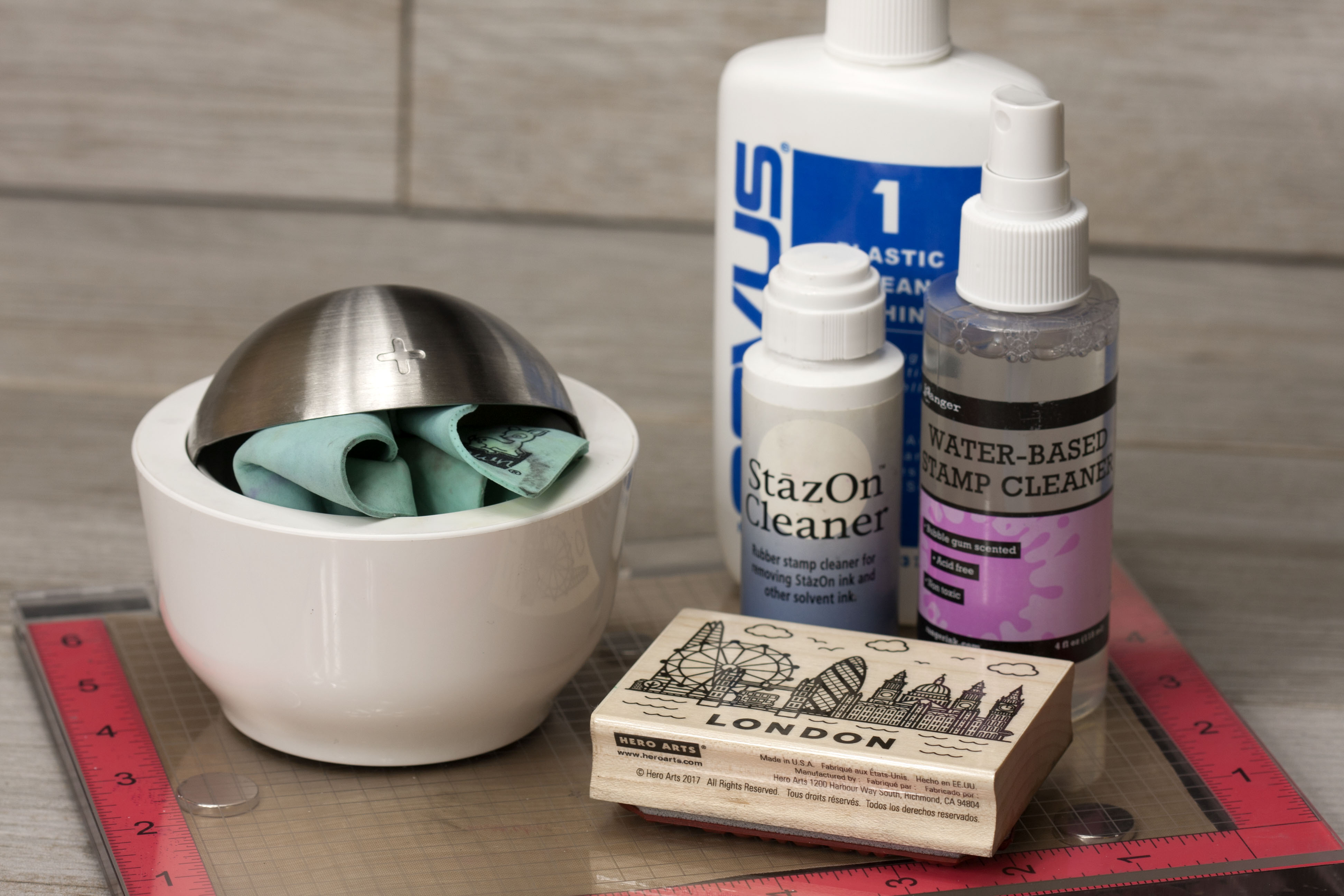 How to clean you Stamps & Misti