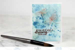 Nuvo Mousse Accented Dragonflies