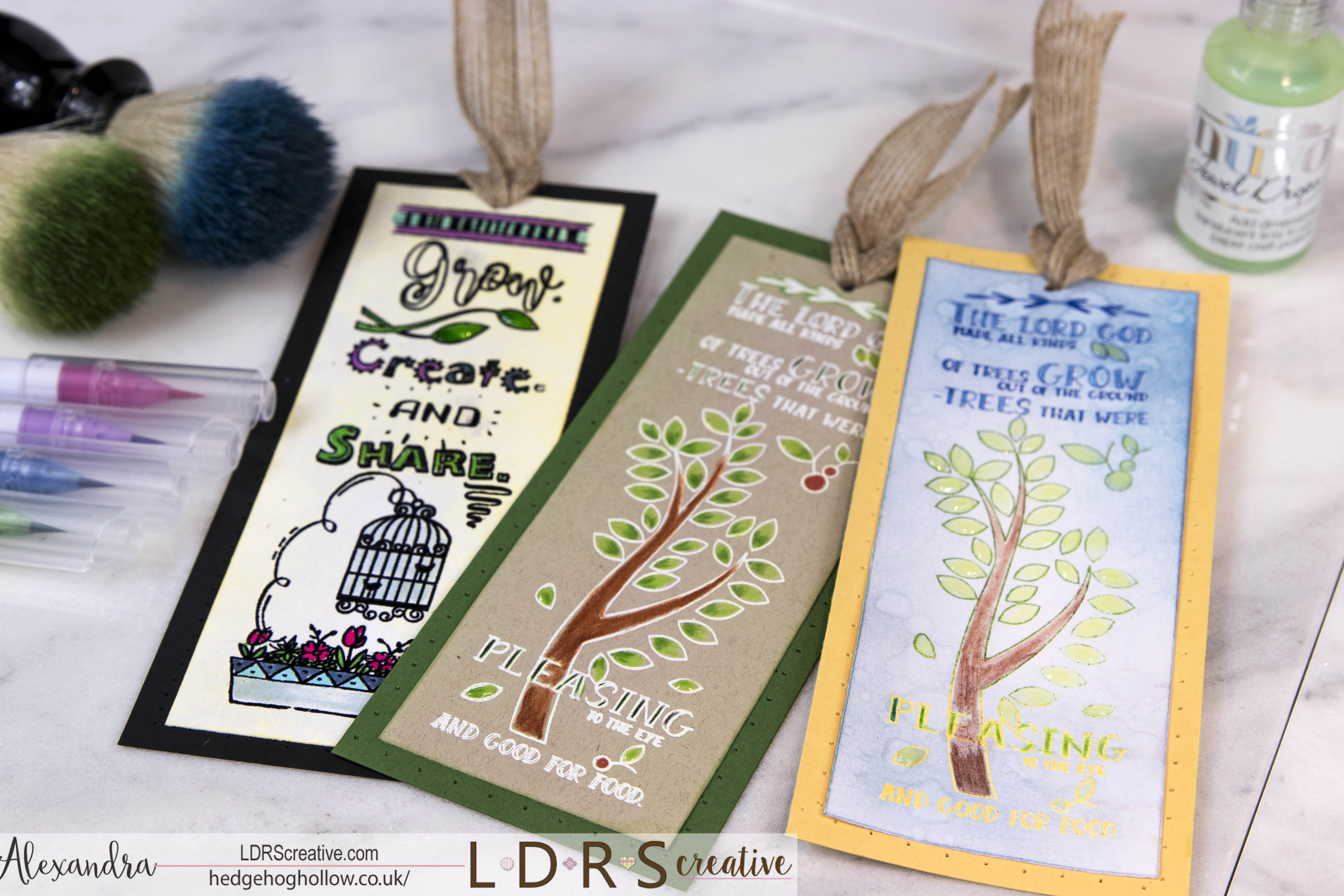 Joining the LDRS Team with a Bookmark Trio