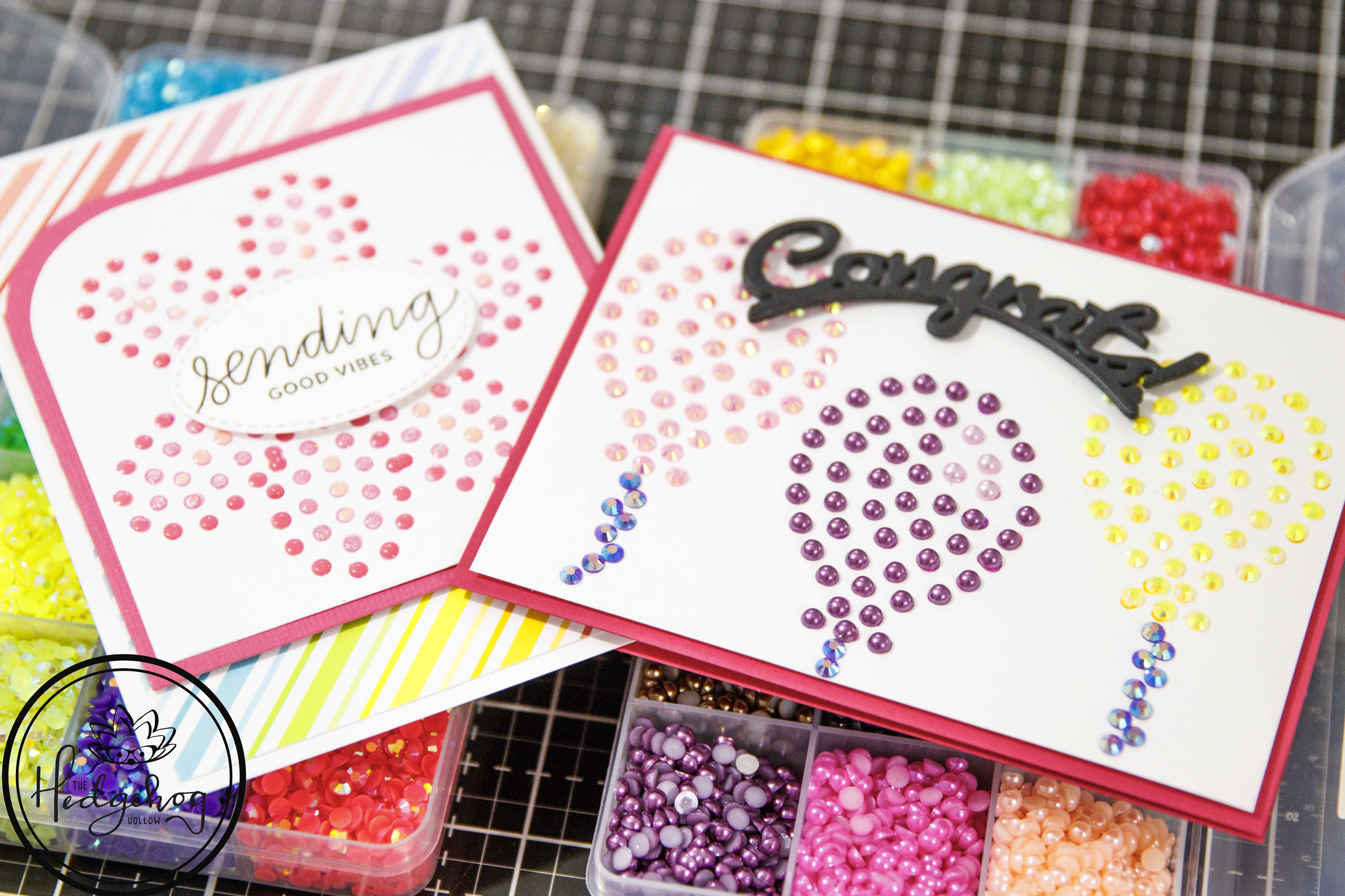 Cards that Bling: Top Tips for working with Gems and Nuvo Drops