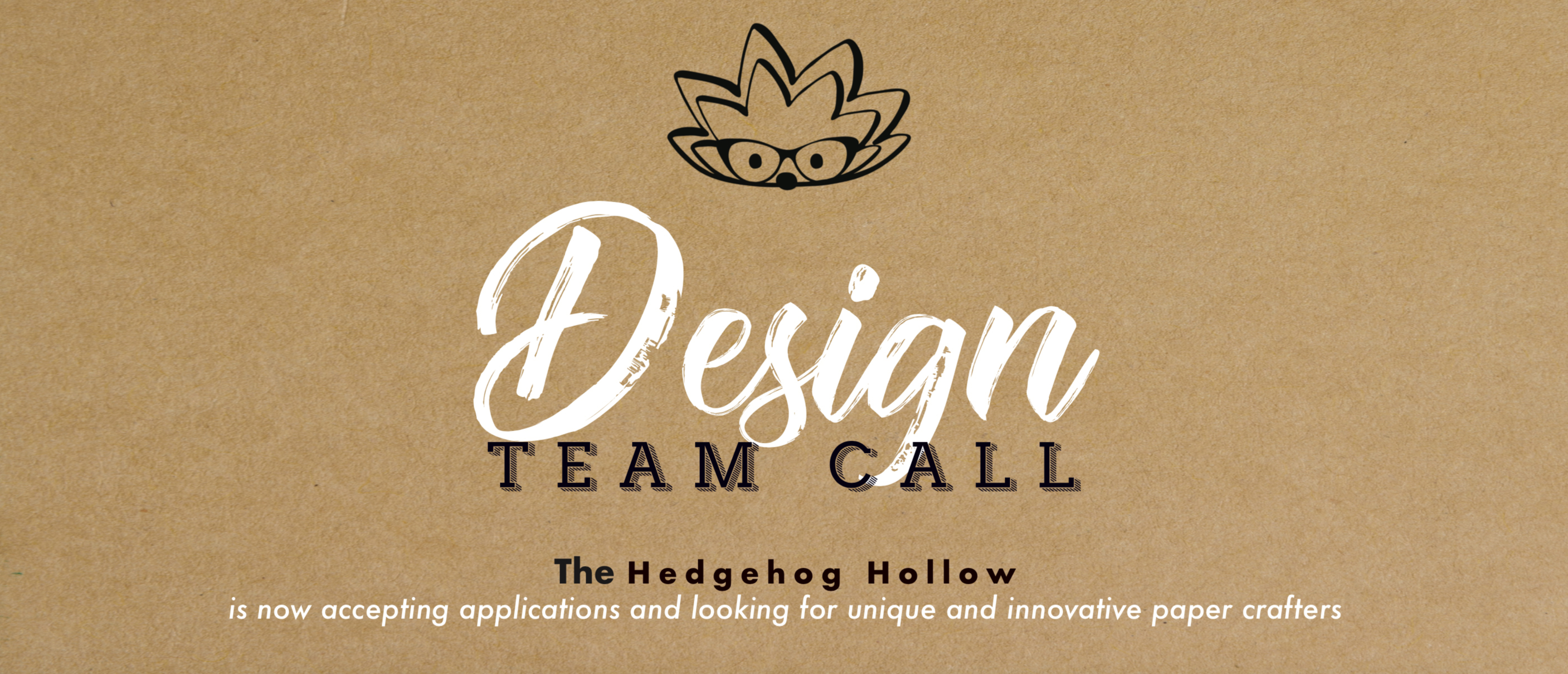 Global Design Team Call Now Open!