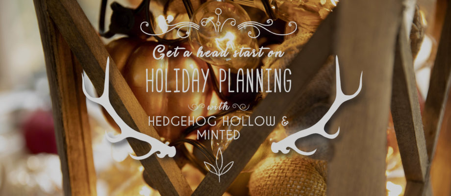 Get a head start on your Fall Holidays – Day 2: Placesettings