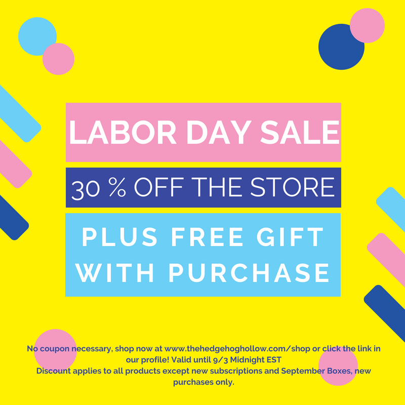 Labor Day Weekend Crafty Sales
