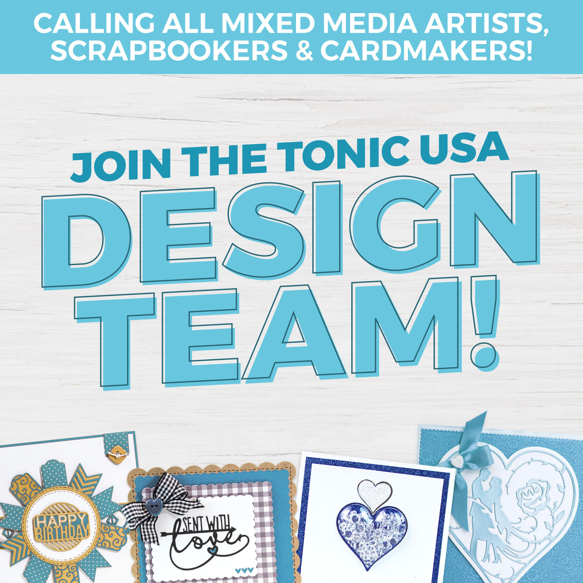 Tonic USA Design Team Call!!!