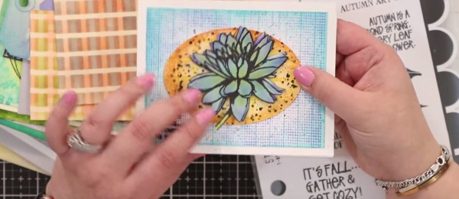 Inktoberfest 2018: Day 23 – Wendy Vecchi Projects + Glue Resist Technique
