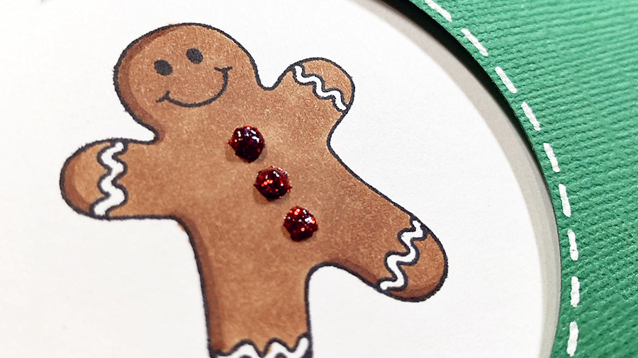 Gingerbread Kisses & Holiday Wishes