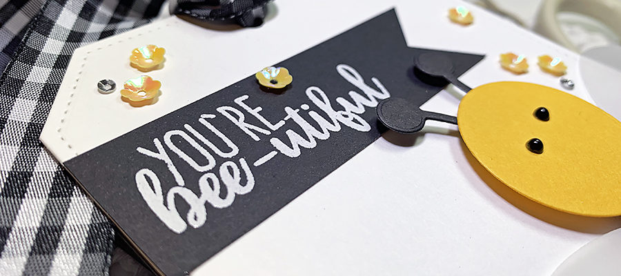 Stitching to Decorate Your Die-Cuts
