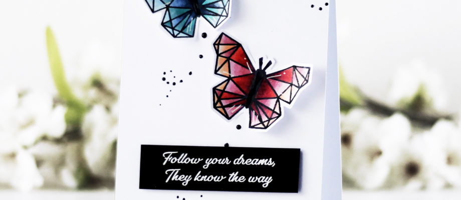[Video] Geometric butterflies with Kaja