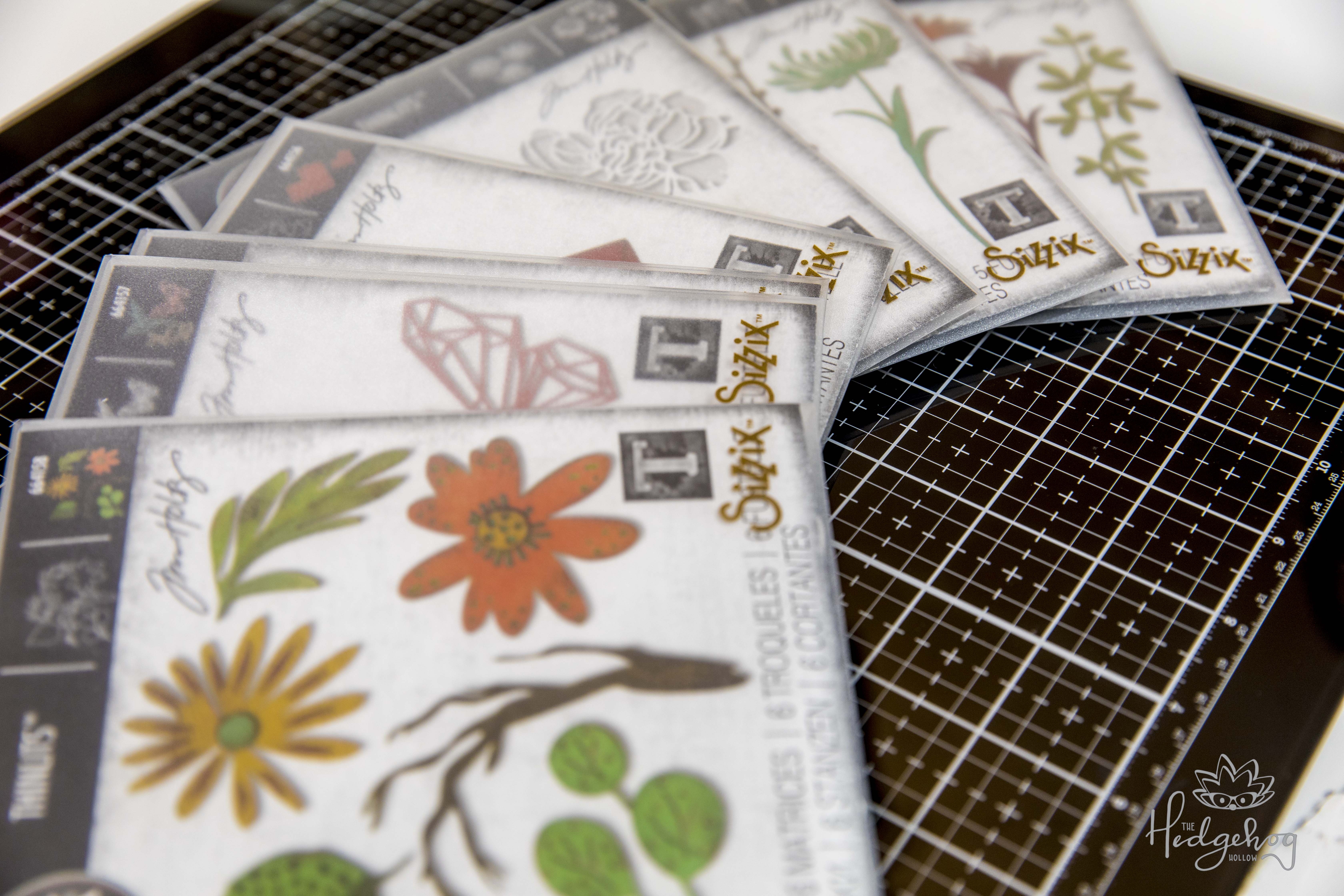 Introducing the New Sizzix Alterations Release by Tim Holtz