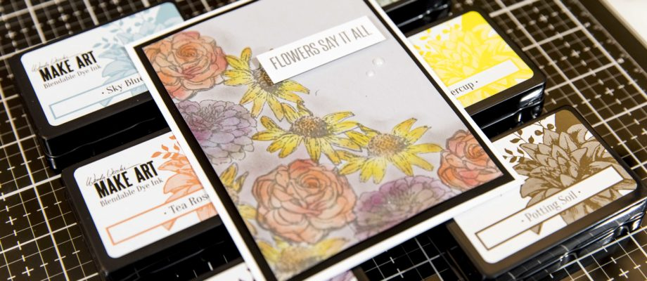 New Amazing Stamp Concept – Flawless & Easy Coloring + New Wendy Vecchi Ranger Release Close Up
