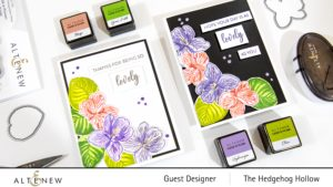 Two Cards using Sweet Violet Stamps