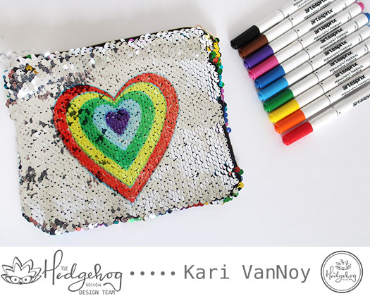 Sublimation on Sequin Pouches with Kari [Video]