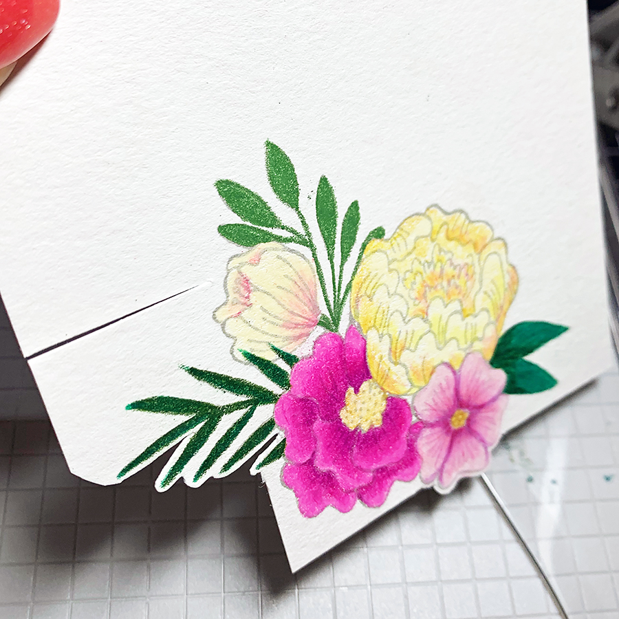 Coloring Florals With Prismacolor Pencils
