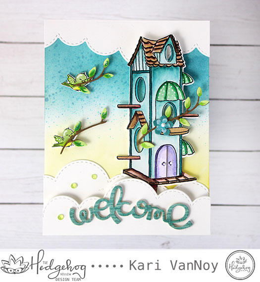 Welcome to the Nest Card with Kari