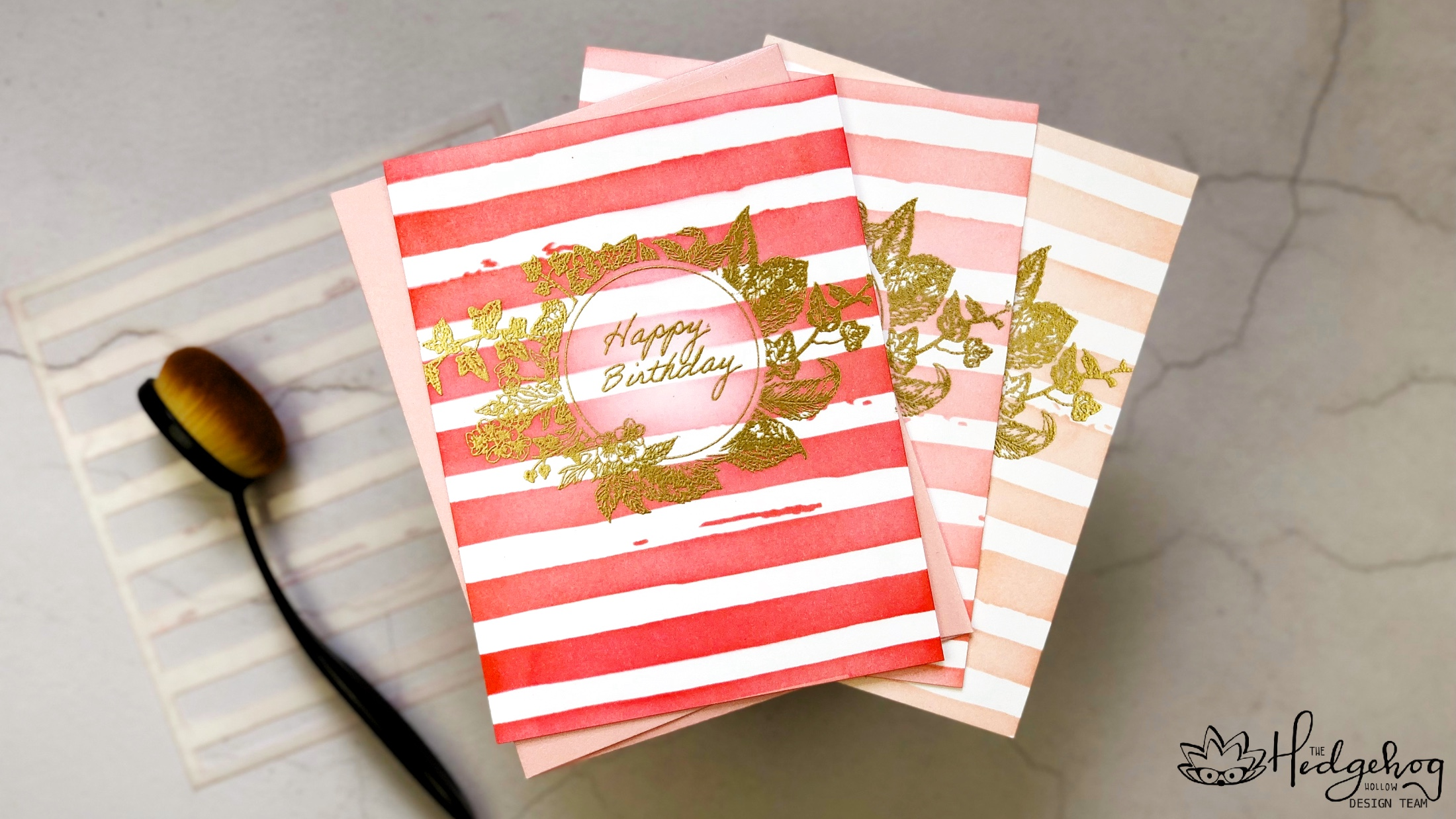Ombre Birthday Cards