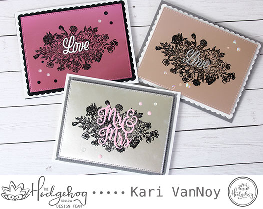 Heat Embossing on Foil Paper with Kari
