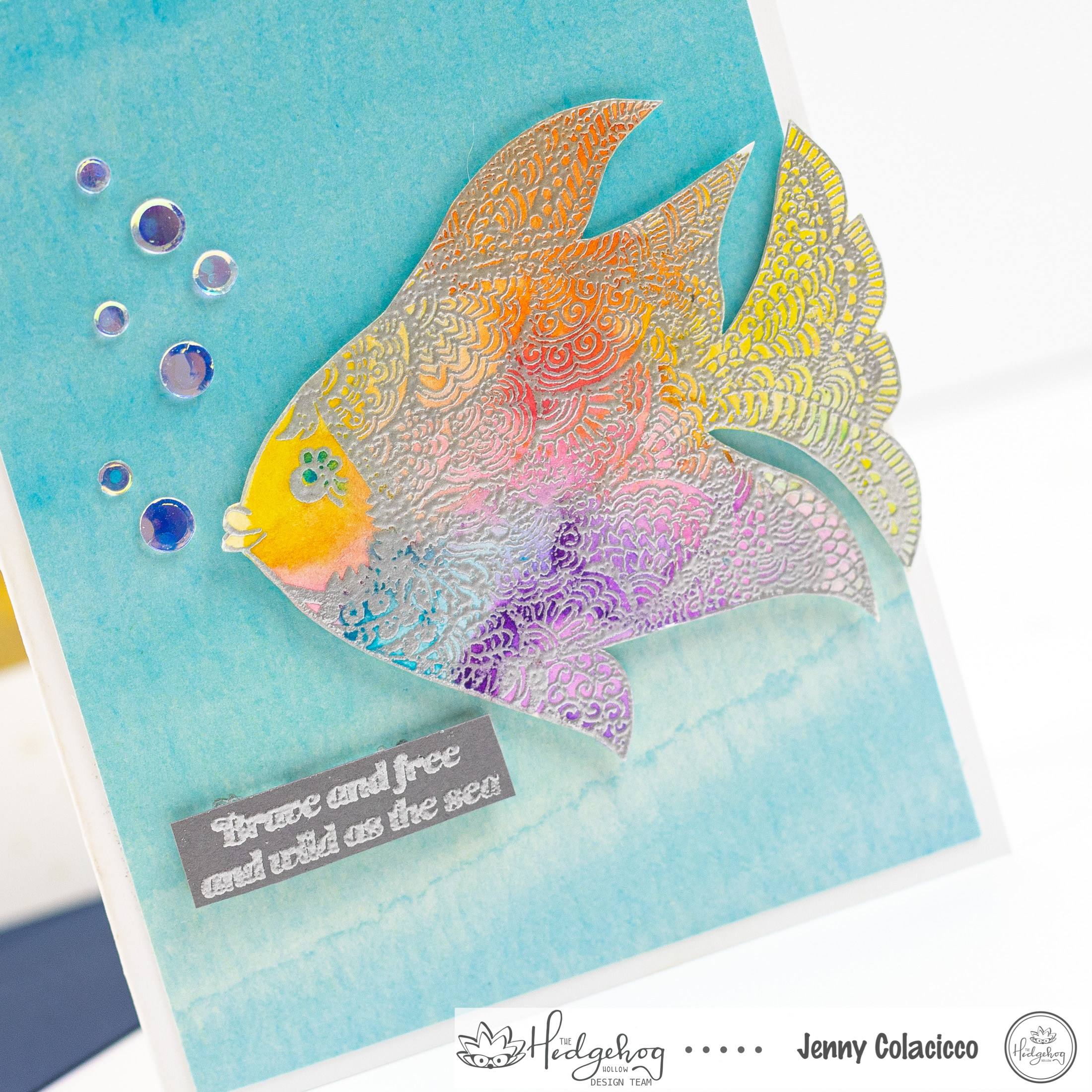 Rainbow Fish Two Ways with Jenny Colacicco
