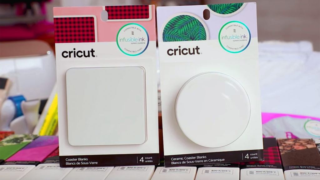 Cricut Infusible Coasters - introduction by The Hedgehog Hollow
