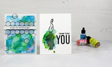Alcohol Ink Techniques | September 2019 Box