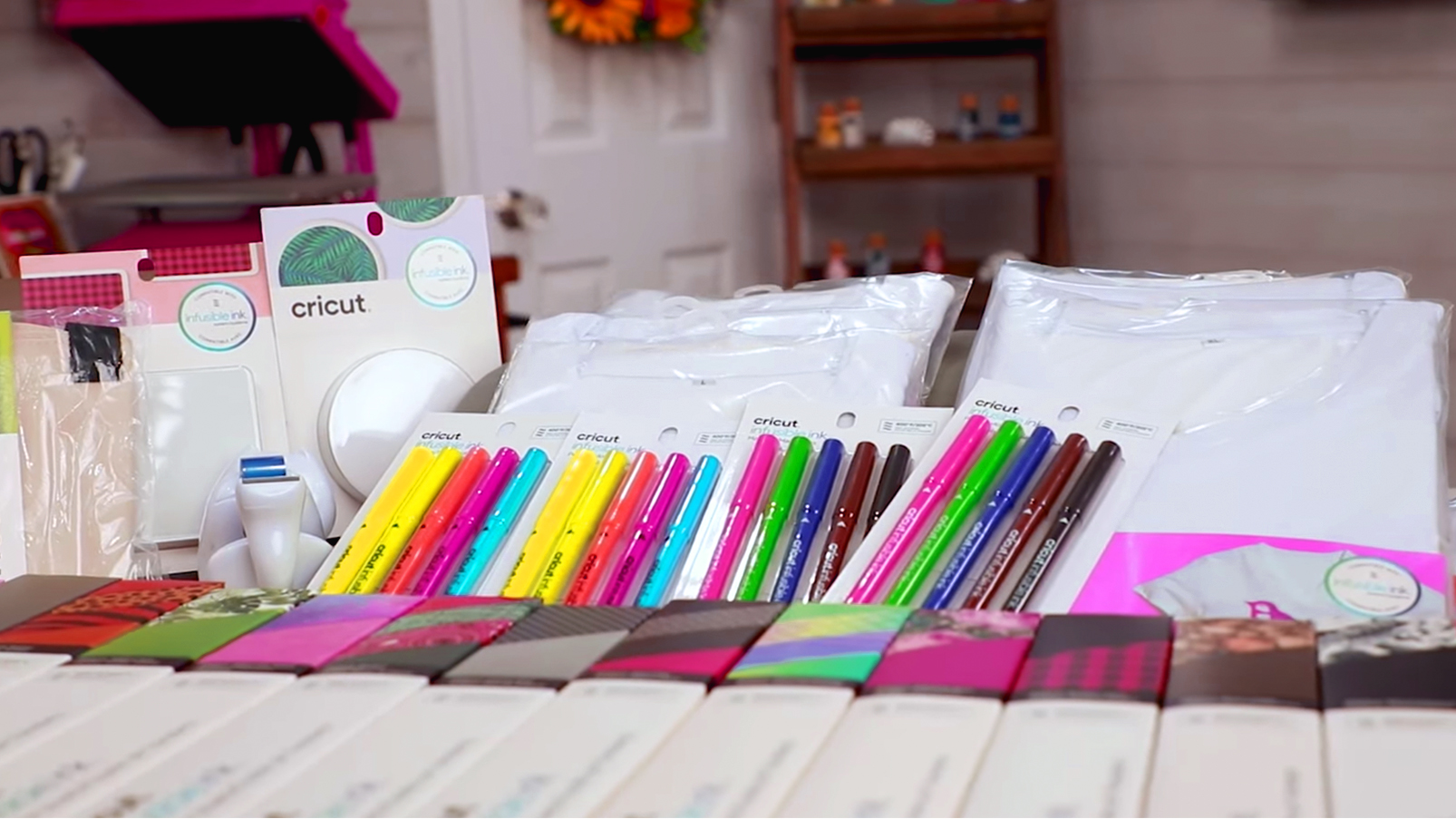 Introduction For Cricut Infusible Ink Heat Transfer Products