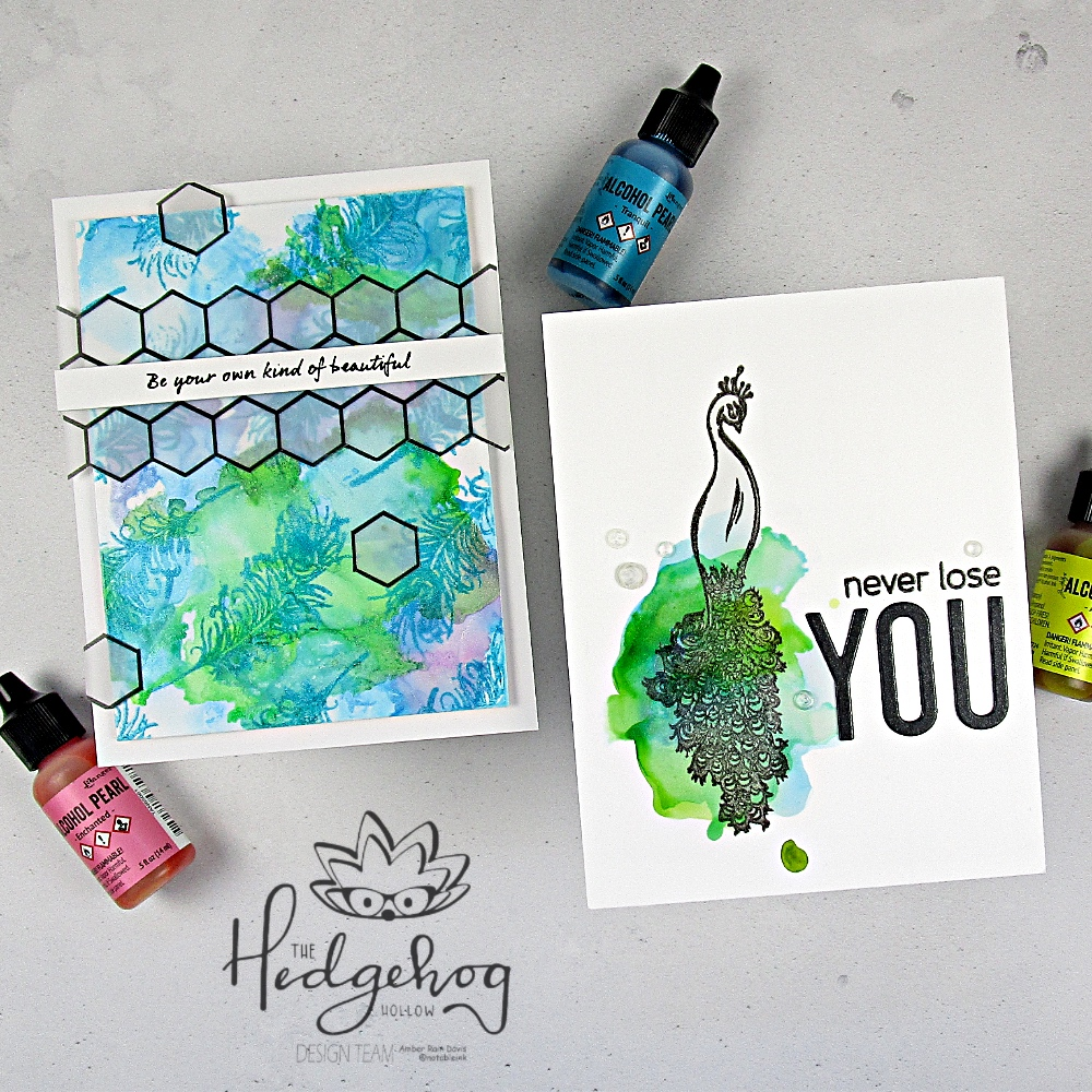 Alcohol Ink Techniques | The Hedgehog Hollow September 2019 Kit
