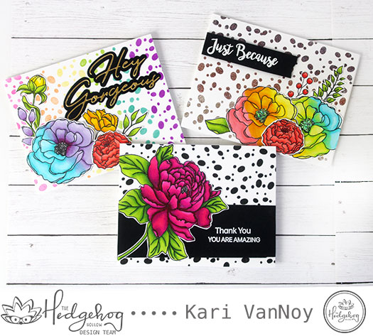 Using a Small Stamp For A Polka Dot Background | August 2019 Kit