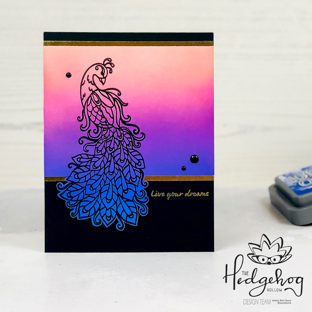 Fun with Distress Oxide Inks | The Hedgehog Hollow September 2019 Kit