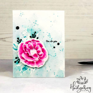 Quick & Easy Watercolor | The Hedgehog Hollow September 2019 Kit