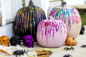 Halloween theme pumpkin decoration