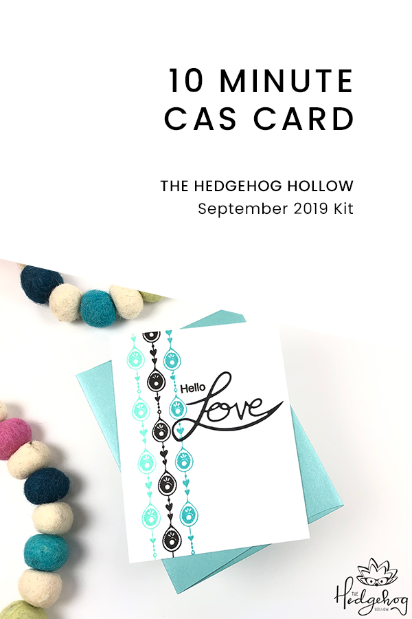 PINTEREST | 10 Minute CAS Card