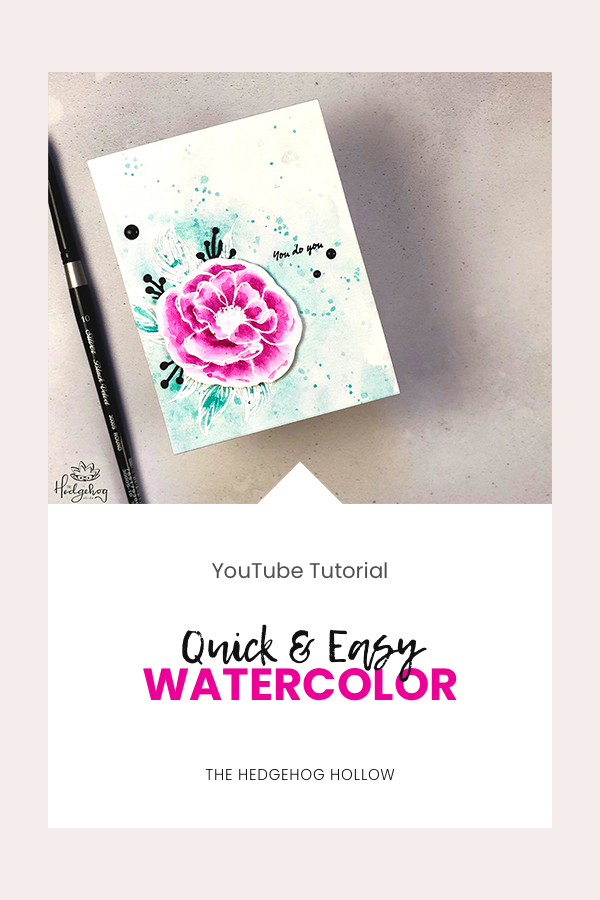 PINTEREST | Quick & Easy Watercolor