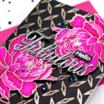 Black and Pink Florals with Jenny