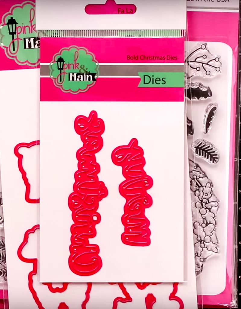 All new craft stamps and pixie dust Coordinating Dies - inktoberfest