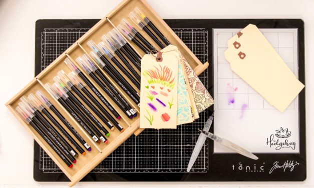 Arteza Brush Pens – Techniques You May Not Know – Inktoberfest Day 11