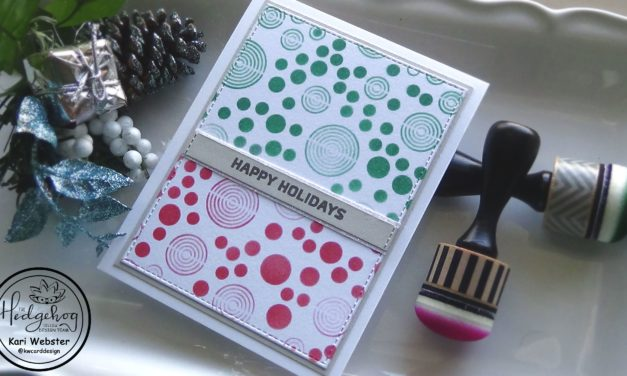 Quick and Easy Holiday Card with Kari W.