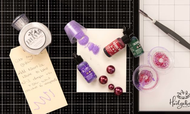 How to Color Your Own Glitter – Inktoberfest Day 17