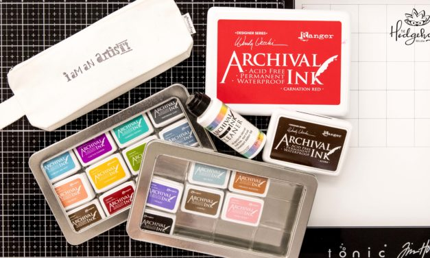 The Best Tips for 3 Ranger Archival Ink Pad sizes – Inktoberfest Day 25