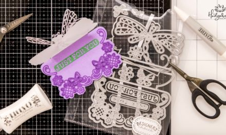 Make 3D Dragonfly Cards at Home with this Die Cut Set