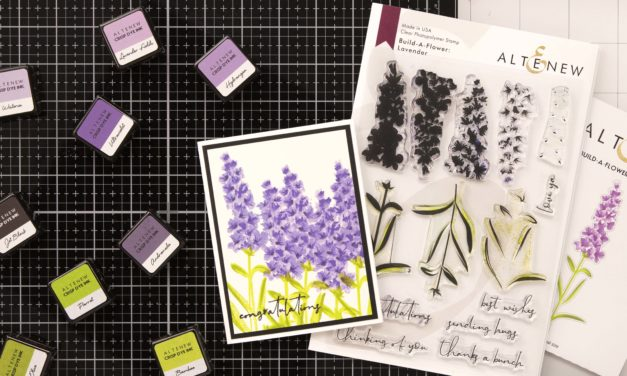 Altenew Build-A-Flower: Lavender Release Blog Hop + Giveaway