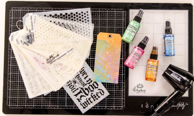 Distress Ink Spray Top 3 Tips – Inktoberfest Day 5