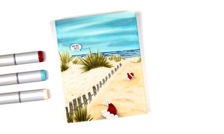 Naughty Santa at Copic Beach