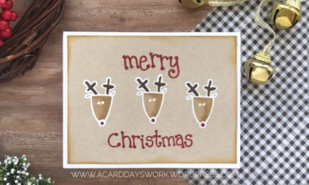 Another Easy to Mass Produce Christmas Card with Jess