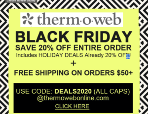 thermoweb black friday deals