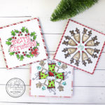 Create a Wreath using Small Stamps (November Kit)