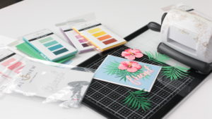 altenew november feature hibiscus garden die cut set