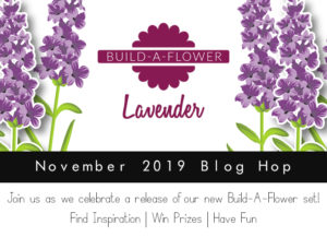 build-a-flower altenew Lavender Blog Hop