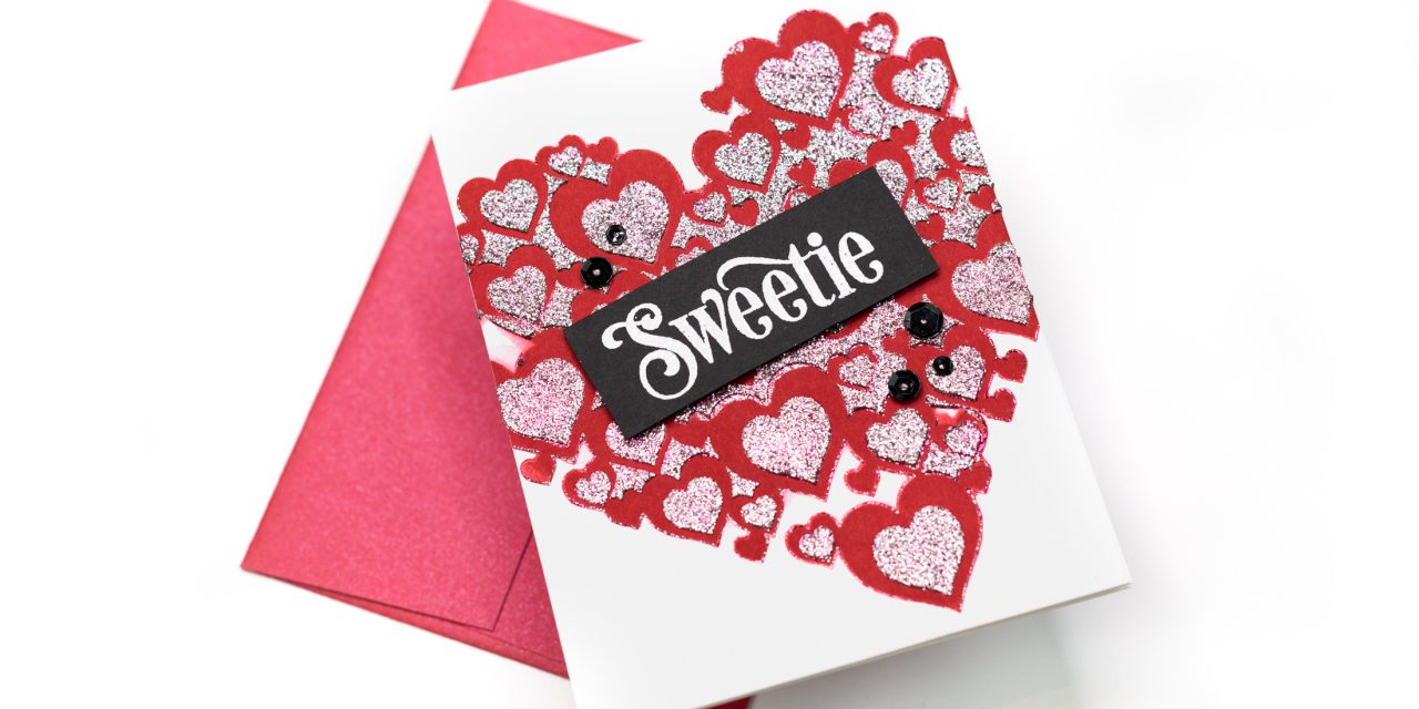 Layered Heart Stenciling with Jenny Colacicco
