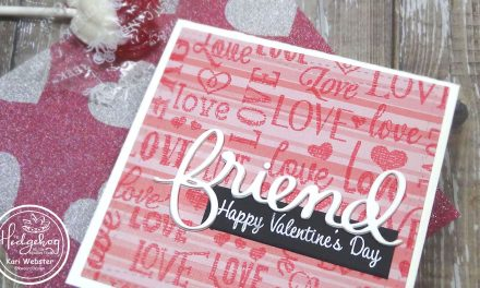 Super Simple Friendship Valentine's Day Card with Kari W.